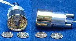空冷式 小型的鹵素燈點型加熱器 HPH-35A