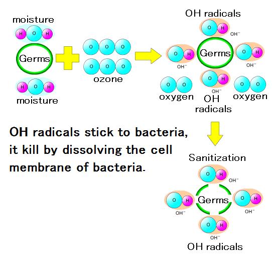 forces of ozone - Sterilizing Power