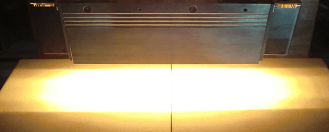 High performance plane beam type Halogen Line Heater HLH-60 series