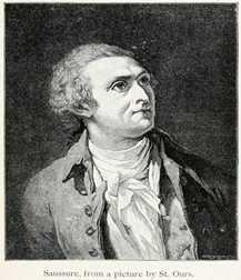 Horace-Bénédict de Saussure ( February 17, 1740 - January 22, 1799 )