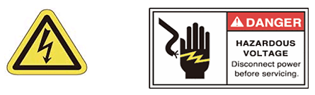 Please check to make sure that the power is turned OFF when replacing the lamp.