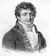 Jean Baptiste Joseph Fourier, Baron de. (21 March 1768 - 16 May 1830) French mathematician and physicist
