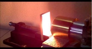 Heating of wood series 1 Spruce - Best Applications the Halogen Point Heater