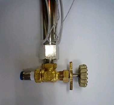 Control Valve with Air Blow Heater