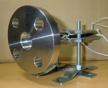 Threaded flange production