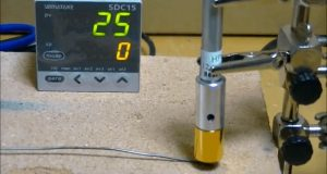 Temperature rising time of HPH-12/f6/12V-20W
