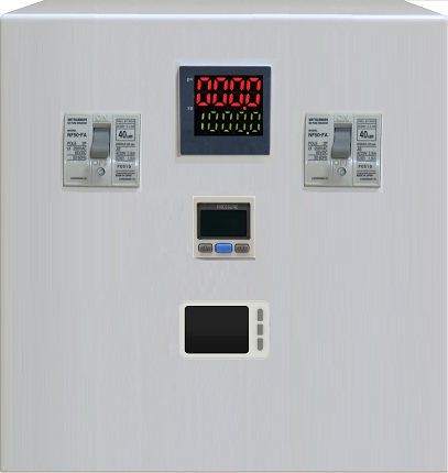 Built-in pressure gauge and flowmeter ACCPFM